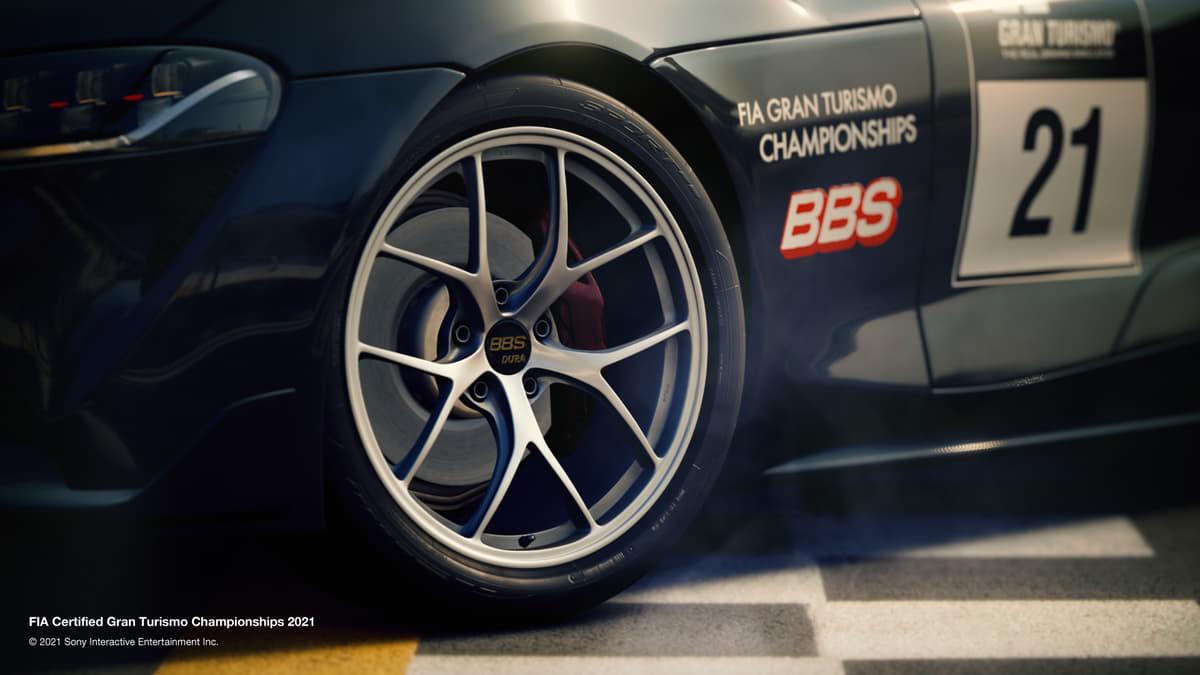 世界的ホイールブランド「BBS」がグランツーリスモSPORTの公式パートナーに! FIA GTチャンピオンシップ2021シリーズをサポート