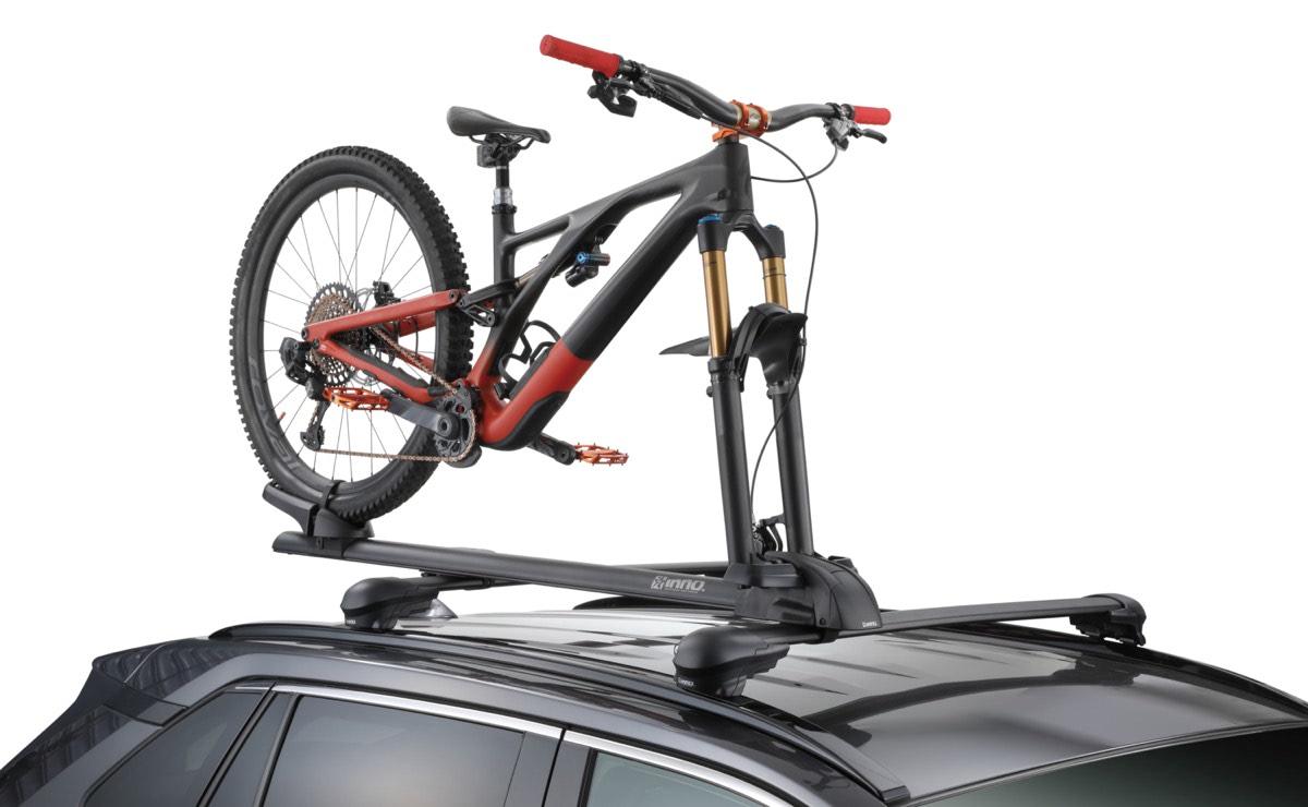 INNOからスポーツサイクルの新規格に対応した、フォークロックタイプのサイクルアタッチメントが発売|カーメイト|