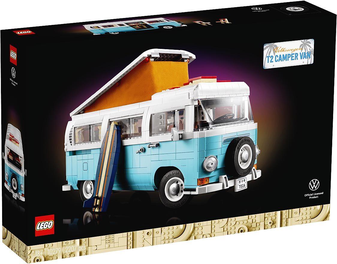 レゴジャパン、VWタイプ2バスのキャンピングカーを発売 丸みを帯びたデザインを再現