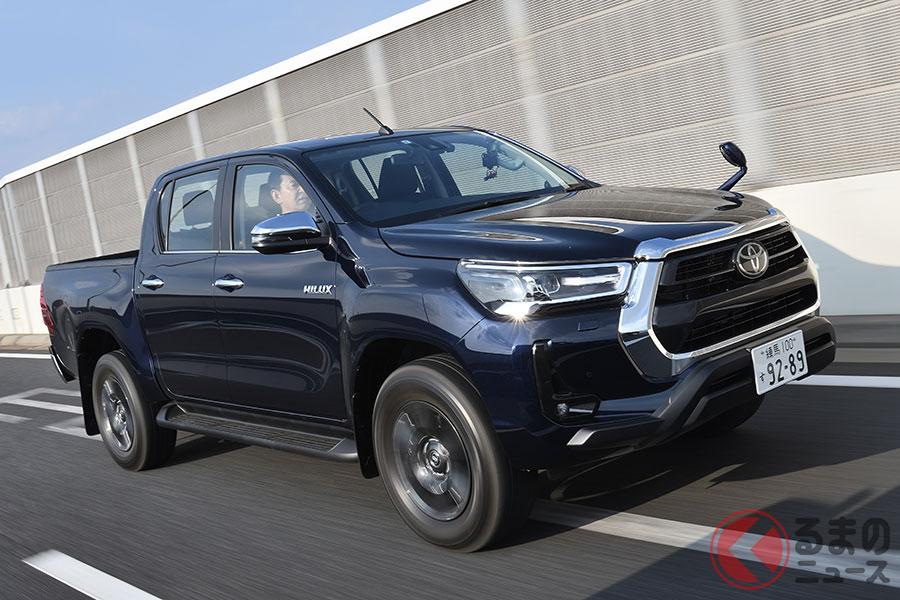 トヨタ新型「ハイラックスレボ 2021年モデル」発表! 新ホイールや9インチDA装備 パキスタンで登場