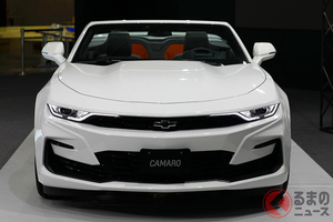 改良新型シボレー「カマロ」8月に日本上陸決定 価格は541万円から