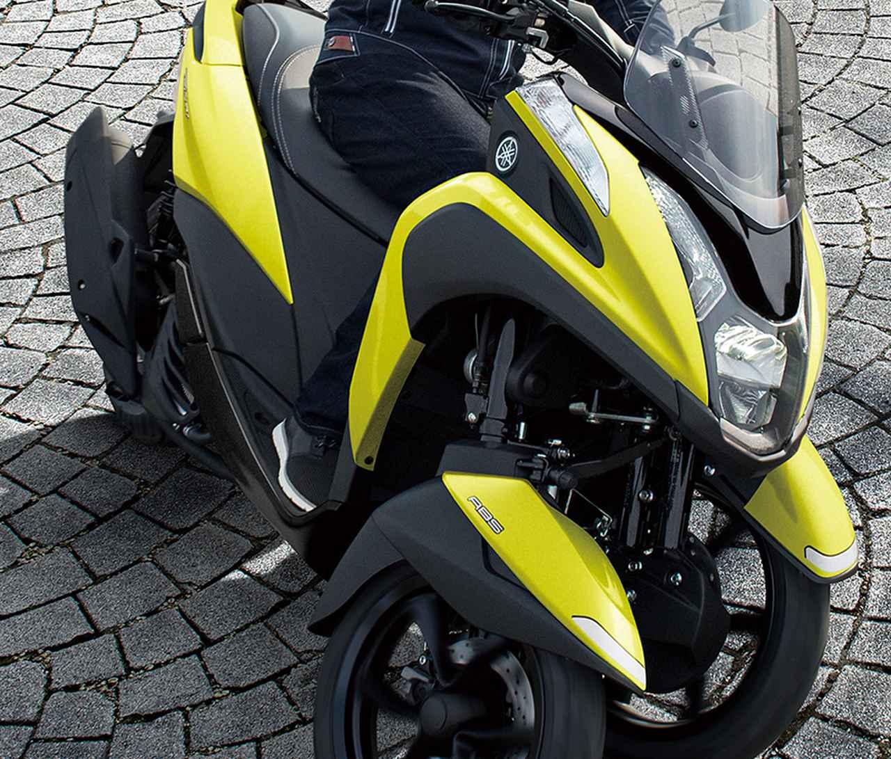 ヤマハが原付二種「トリシティ125」の2021年モデルを発売! 鮮明な新色〈イエロー〉が登場