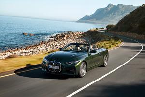 新型BMW 4シリーズにコンバーチブル誕生! BMW最新の2ドア4シーターオープンはクラシカルな幌屋根仕様へ