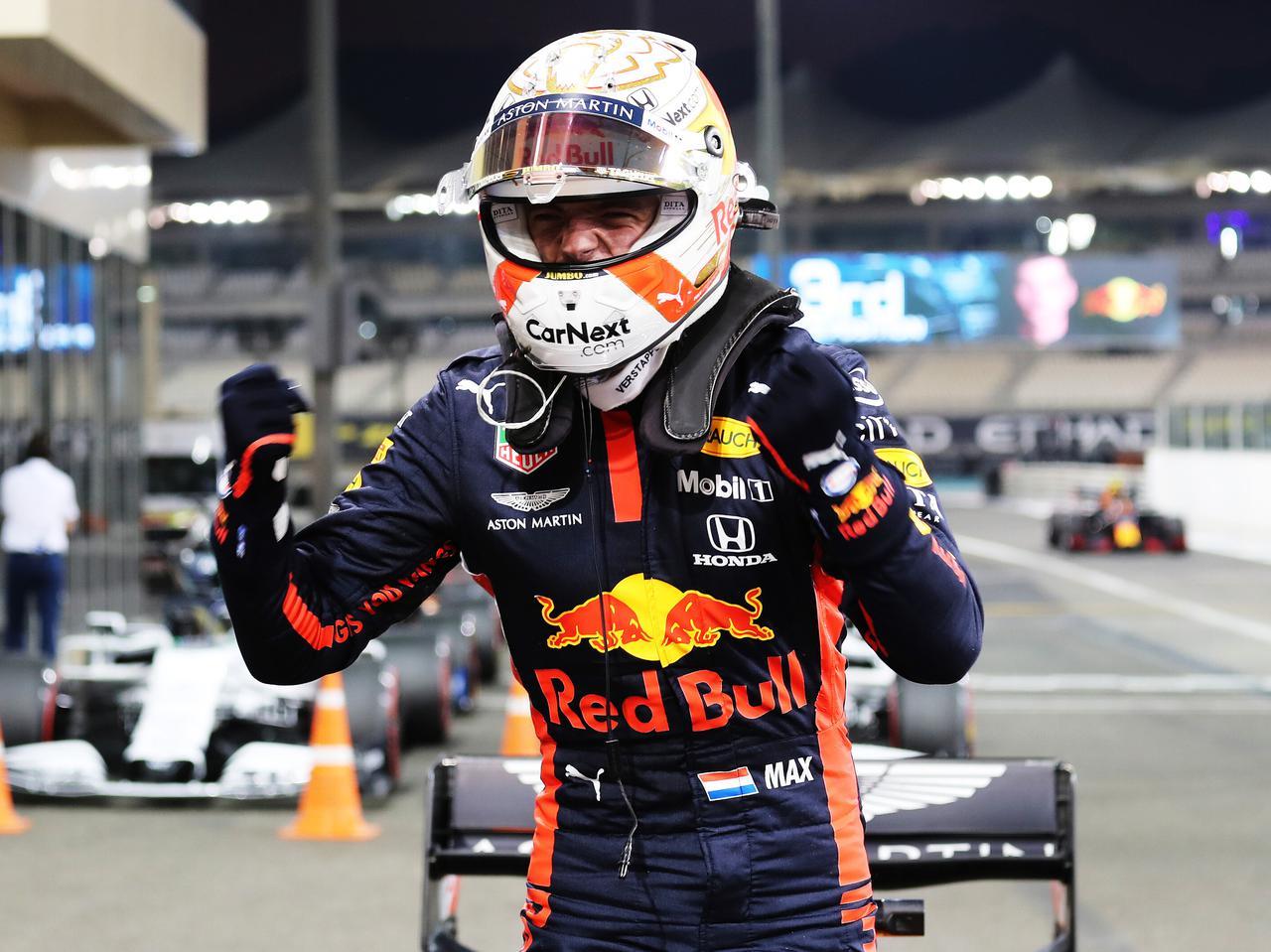 F1アブダビGP予選、フェルスタッペンが今季初ポール。そのコメントから期待はさらに高まる!【モータースポーツ】