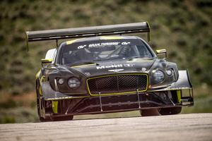 ベントレーが「コンチネンタルGT3」と再生可能燃料でパイクスピークのヒルクライムレースに挑戦する理由