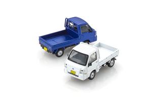 スバリスト&軽トラマニア購入必須! KYOSHO MINI CAR & BOOK No.8.スバル サンバー トラックが10月26日に発売