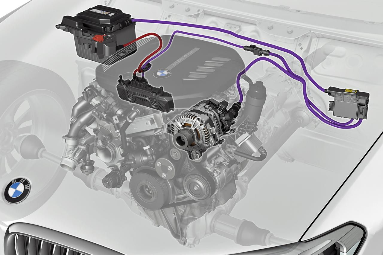 BMW X5/X6/X7のディーゼル車に48V マイルドハイブリッドを搭載