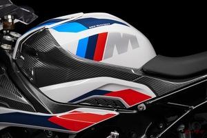 「BMW M1000RR徹底解説」S1000RRと何が違うのか?212馬力のエンジンと、車重192kgの車体に見る本気度