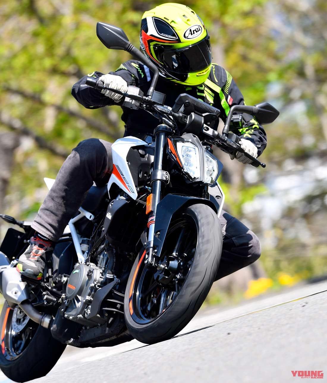 '21 KTM 390デューク試乗ショートインプレ 【クイックシフターがオプションで追加可能に】
