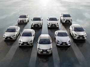 レクサスの電動車、世界累計販売台数が200万台に到達。2021年にはブランド初のPHEVを追加か