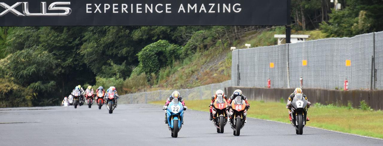 <全日本ロードレース> 篠崎佐助 復帰即チャンピオン獲得!~WebオートバイはJP250を応援します!~