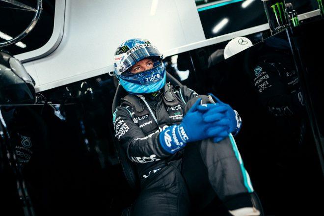 初日トップのボッタス「ドライではショートランもロングランも好調だが、ウエットでは未知数」メルセデス/F1第15戦