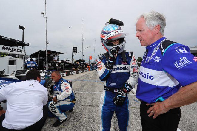 残り2周のオーバーテイクショーで8位の琢磨「イエローコーションも味方し、良い作戦を立ててくれた」