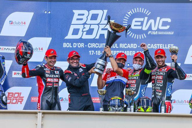 ヨシムラSERTがサバイバルレースで完全勝利。渥美心は大健闘の7位/2021EWC第3戦ボルドール24時間