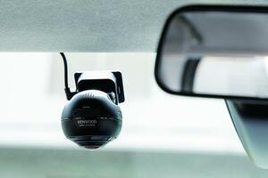 360°のカメラで、事故だけでなくあおり運転の映像もしっかり記録