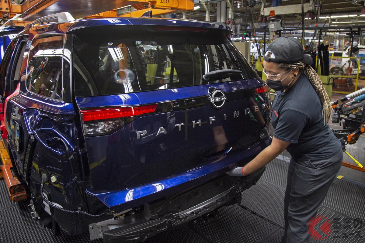 全長5m越え! 大型SUV「パスファインダー」生産開始! かつての「テラノ」の最新版とは