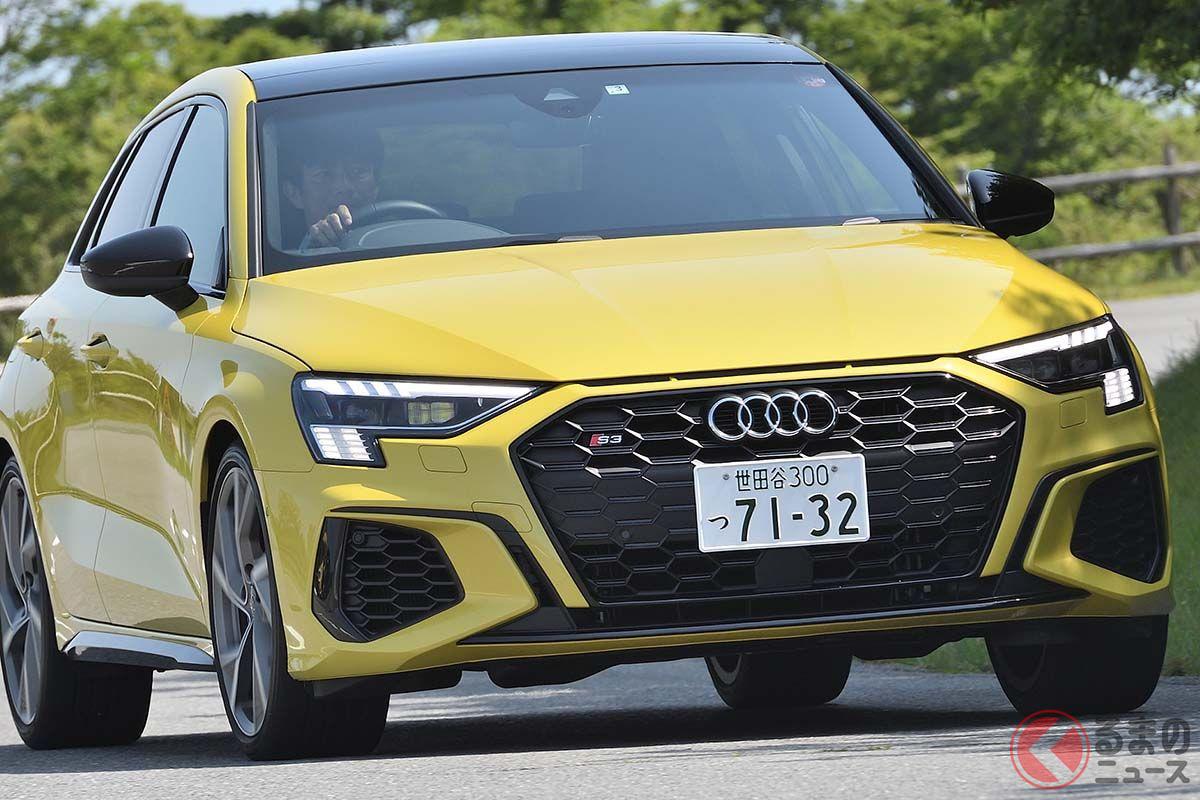 アウディ新型「S3」日本上陸! ドイツ・ホットハッチ3台に見る共通点と違いとは