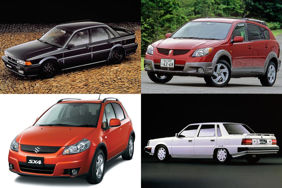 海外メーカーのブランド力に頼っても売れなかった「悲運の共同開発車」3選
