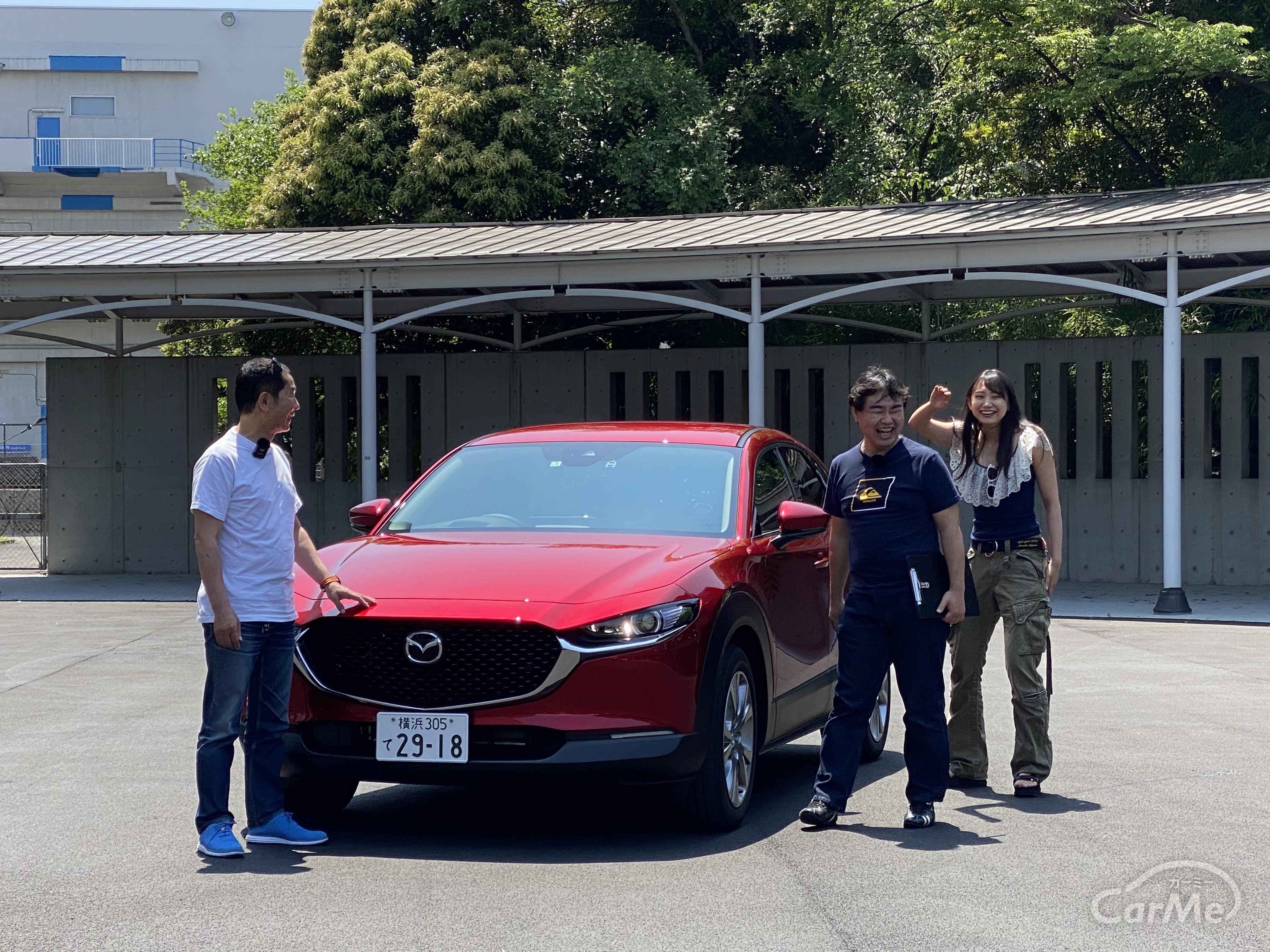 【使いやすいSUV】マツダ CX-30を土屋圭市とチーム国光RQの相沢菜々子が徹底解説!