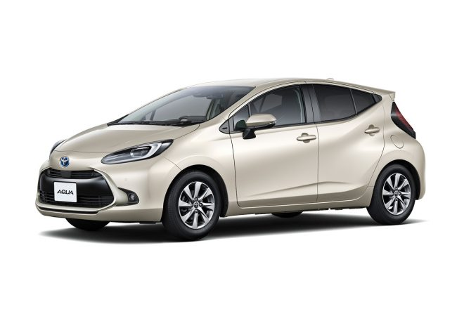 トヨタ新型アクアを発売。35.8km/Lの低燃費の実現と防災に備えた給電機能を装備