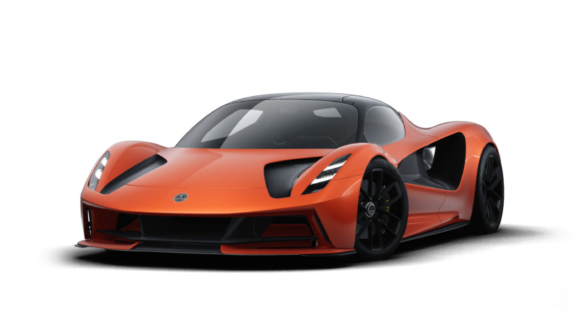 【EV図鑑】お値段3億円!最高出力2000PSを発揮するロータスのEVハイパーカー「エヴァイヤ」