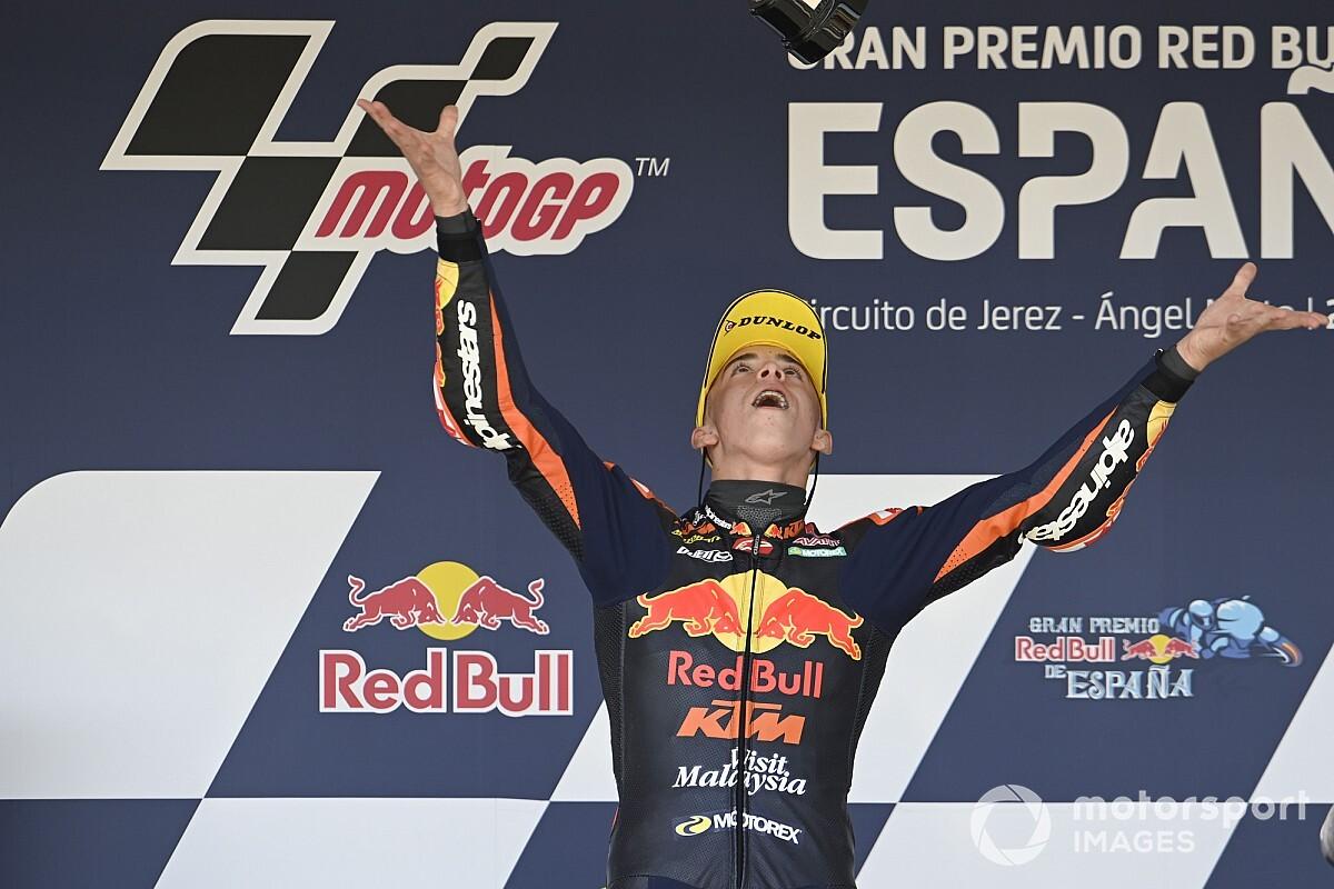 """【MotoGP】Moto3デビュー2ヵ月で3連勝。""""未来の王者""""と注目集めるペドロ・アコスタは何者なのか?"""