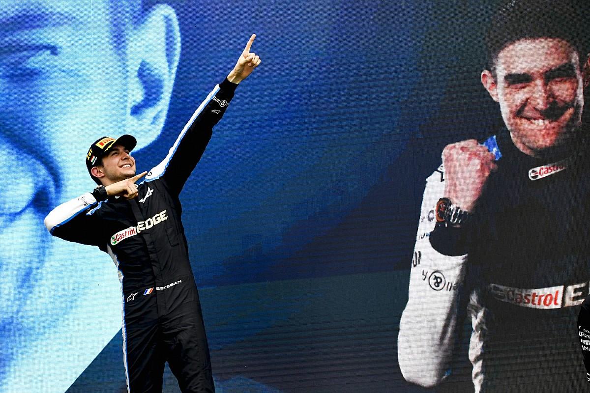 トップを走るより中団争いの方が難しい? F1初優勝のオコン、GP3以来久々の勝利も「勝てなくたった腕が鈍っていたわけじゃない」 F1ハンガリーGP
