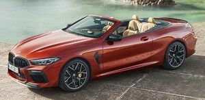 BMW史上最強のプレミアムオープンモデル「BMW M8カブリオレ」登場