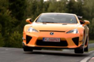 市販車ニュル世界最速、LFAスペシャル版も!