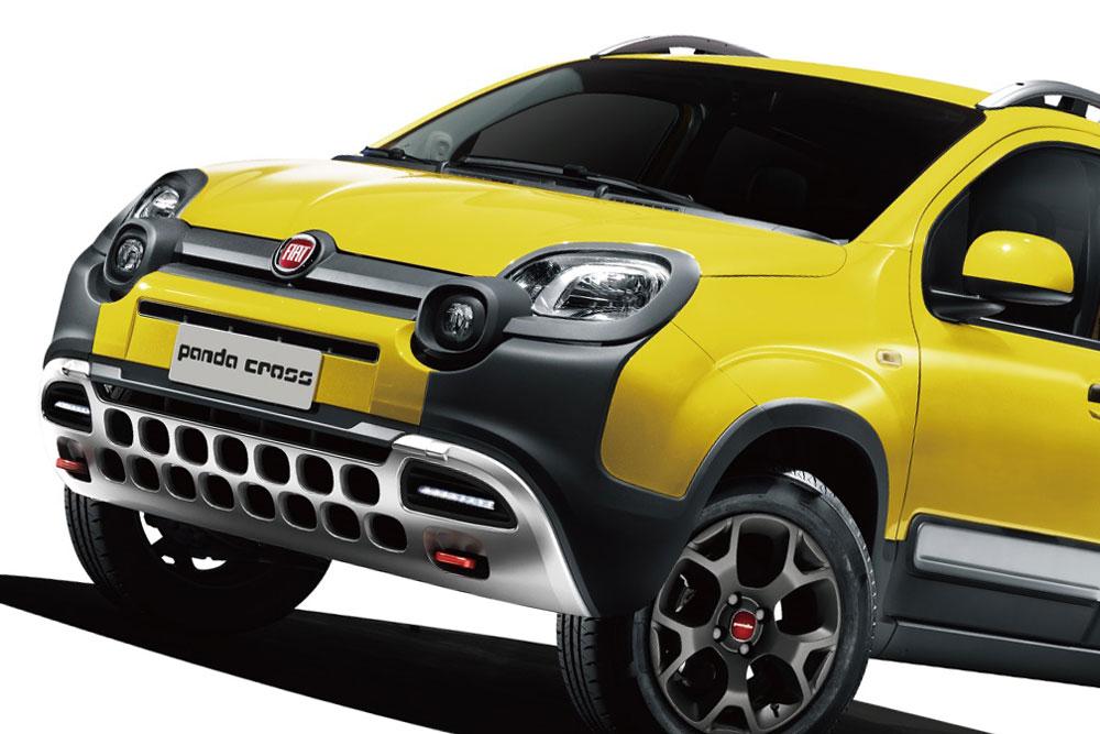 【全長4m未満】フィアット・パンダ・クロス4×4 小型SUVの限定車、10/24発売へ