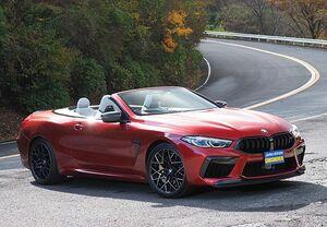 「最新スーパーカー試乗」一見ラグジュアリー、実は本気のスポーツ。Mの頂点、BMW・M8カブリオレの迫力世界