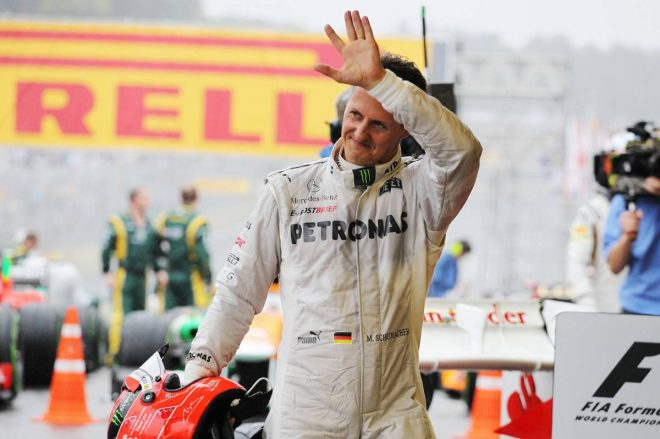 「心から彼に勝ってほしかった」メルセデスF1に大きく貢献も、勝利を挙げられなかったミハエル・シューマッハー