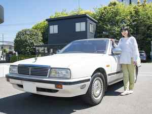 女優・伊藤かずえさんの30年来の相棒!愛車「シーマ」のレストアがついに始動!