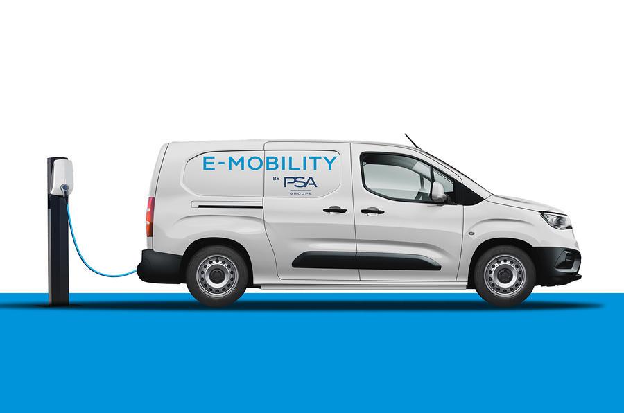 【商用車も続々と電動化】PSA、商用バン3車種のEV版導入 2021年欧州発売 ベルランゴも