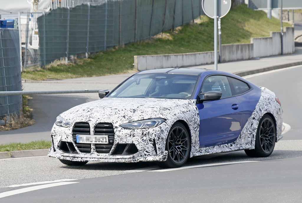 【スクープ】BMW M4の最強モデル「CSL」市販型のボディパネルが露出! 911GT3新型とガチンコ勝負か?
