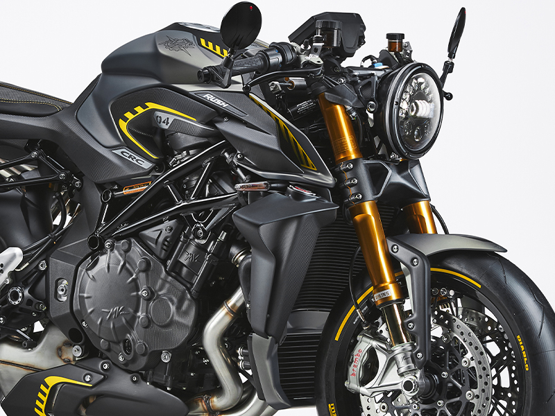 【MVアグスタ】地上の戦闘機! ネイキッドモデル「ラッシュ」2021年モデルを2021年11月下旬~12月上旬に発売