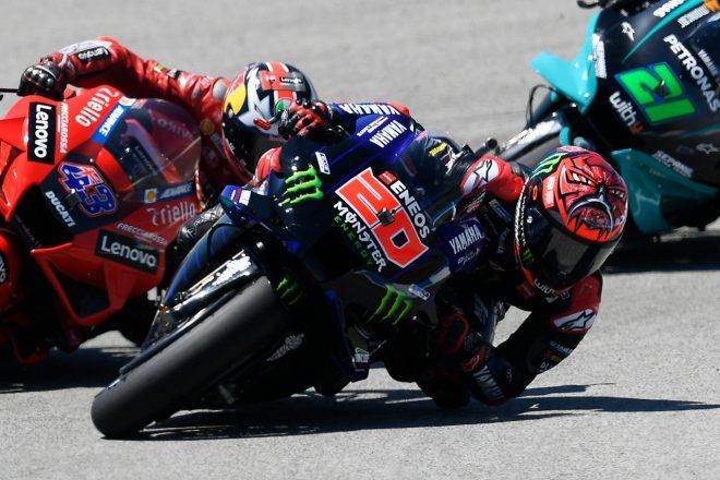 クアルタラロ、失速の原因は腕上がり「突然、右腕の感覚がなくなった」/MotoGP第4戦スペインGP