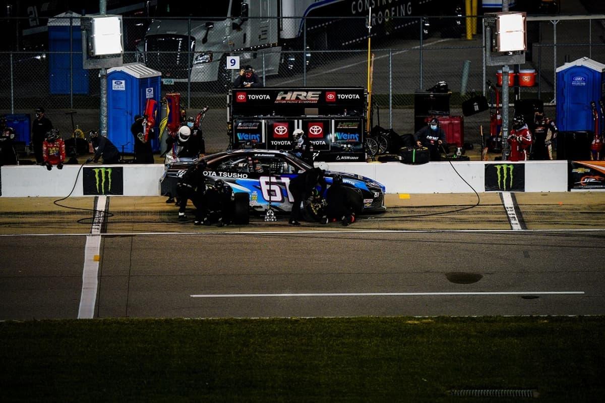 「エクスフィニティシリーズ」第30戦 服部レーシング(HRE)チームベストリザルト【NASCAR】