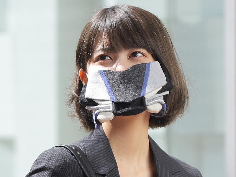 【ヤマハ】YZF-R1M がフェイスマスクに?! ウェブで「YZF-R1Mマスク」の作り方を公開
