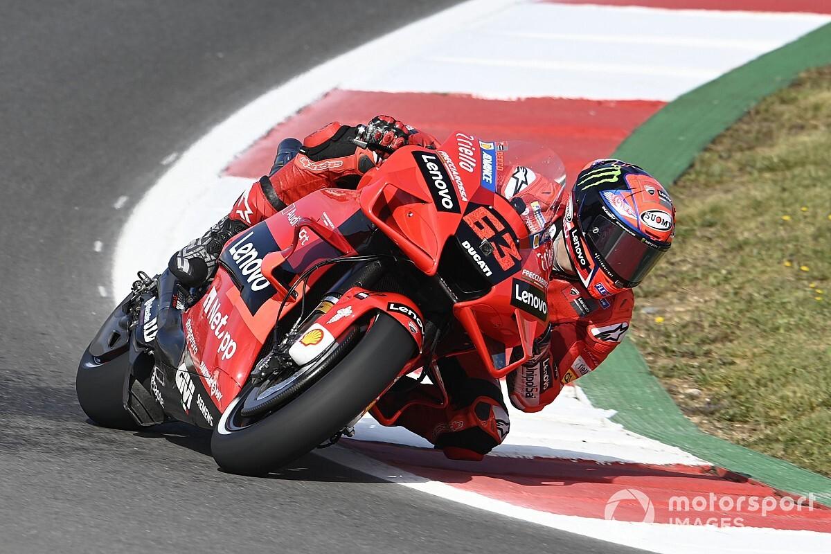 【MotoGP】第3戦ポルトガルGPフリー走行2回目:バニャイヤが初日首位。復帰のマルク・マルケスはホンダ勢トップの総合6番手。中上転倒も10番手確保