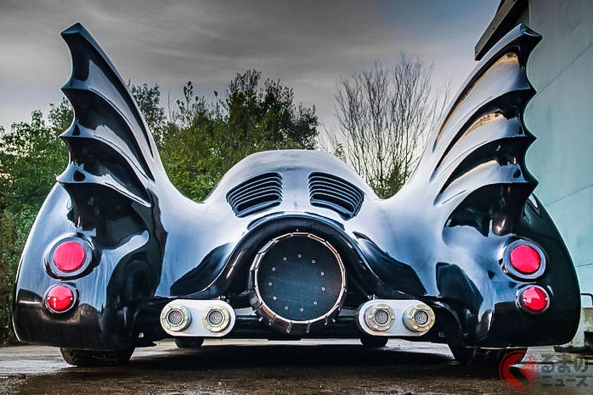 バットマンの愛車が400万円で手に入る!? 公道を走行可能な「バットモービル」とは?