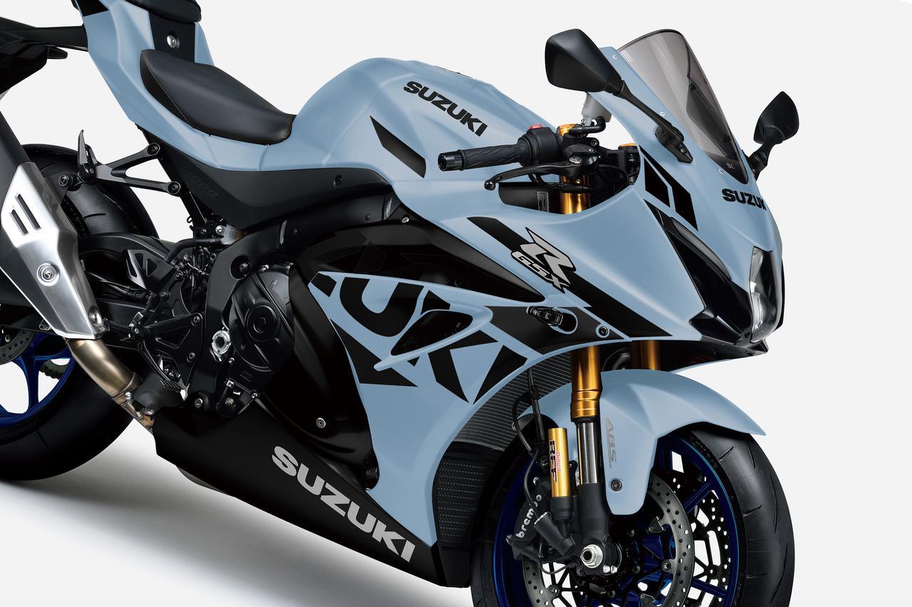 最速のスズキ『GSX-R1000R』がカラーチェンジ! 2021年モデルは何だかお洒落なスーパースポーツに?【スズキのバイク! の新車ニュース/GSX-R1000R(2021)】