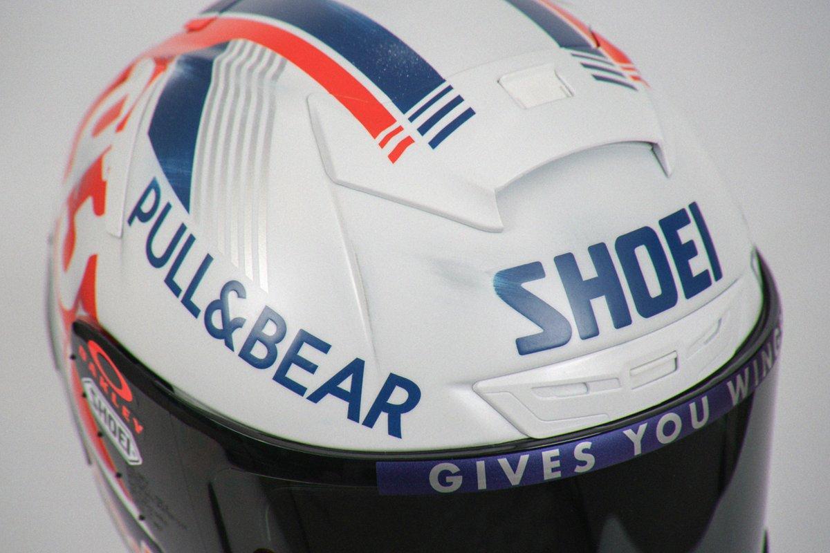 """【MotoGP】マルク・マルケス、70-80年代フィーチュアの""""レトロ・ヘルメット""""を公開。ドイツGP特別仕様"""