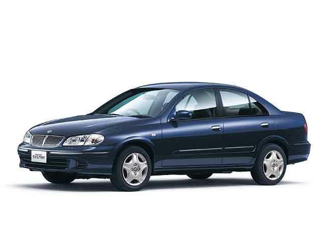 日産 ブルーバードシルフィ 2000年8月〜モデル