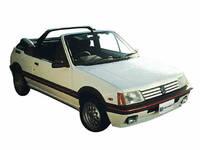 プジョー 205カブリオレ 1989年10月〜モデルのカタログ画像