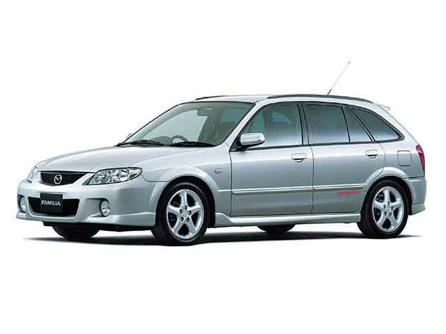 マツダ ファミリアS-ワゴン 2002年9月〜モデル