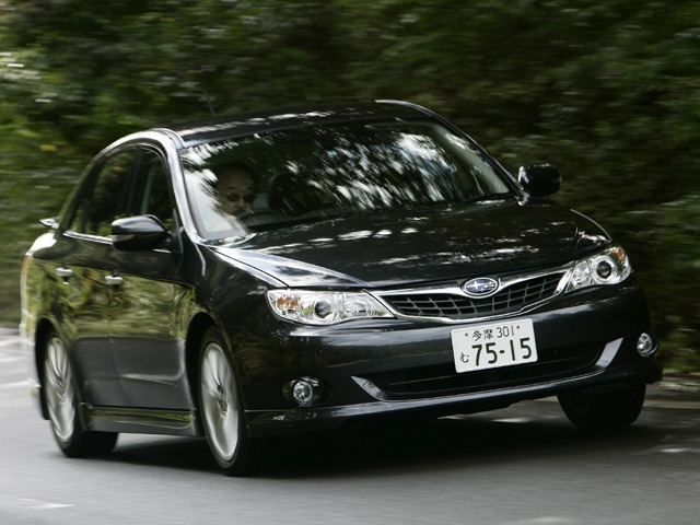 スバル インプレッサアネシス 2010年6月〜モデル