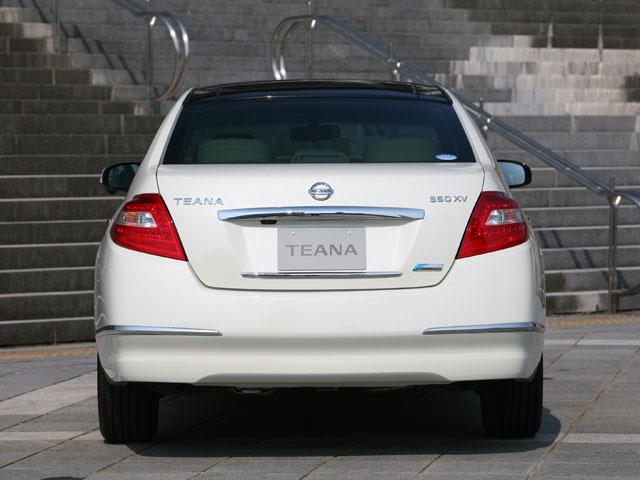 日産 ティアナ 2009年8月〜モデル