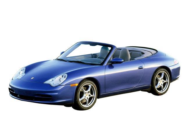 ポルシェ 911カブリオレ 2003年8月〜モデル