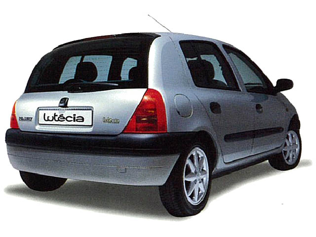 ルノー ルーテシア 2001年1月〜モデル
